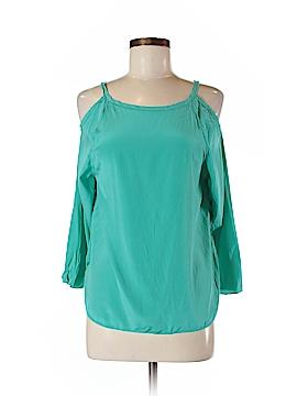 Sachin + Babi 3/4 Sleeve Silk Top Size 6