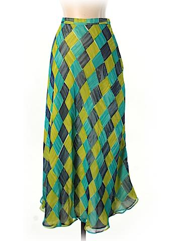 Chetta B Silk Skirt Size 8