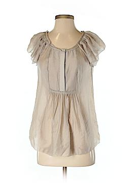 BCBGMAXAZRIA Short Sleeve Blouse Size XS