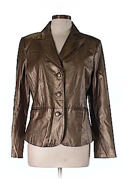 B by Bernardo Faux Leather Jacket Size L