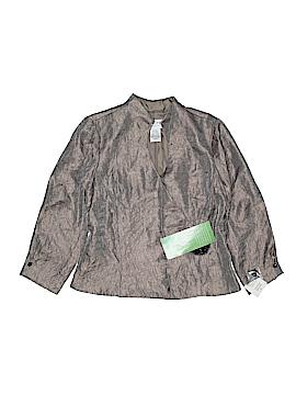 J.R. Nites by Carol Lin Long Sleeve Blouse Size 10