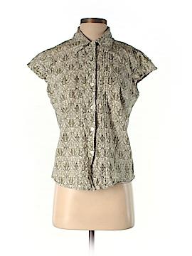 Central Park Short Sleeve Button-Down Shirt Size L