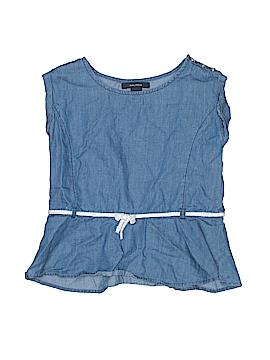 Nautica Short Sleeve Blouse Size 7