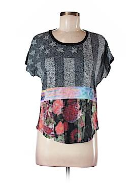 Converse Short Sleeve Blouse Size M