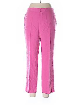 Lauren by Ralph Lauren Silk Pants Size 14 (Petite)