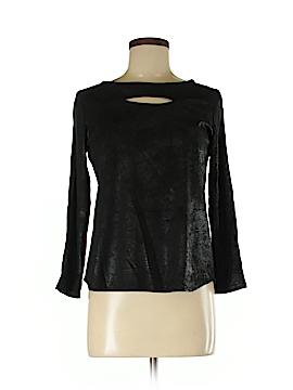 Waverly Grey Long Sleeve Blouse Size 2