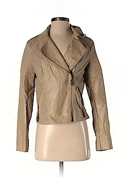 VERTIGO Faux Leather Jacket Size M