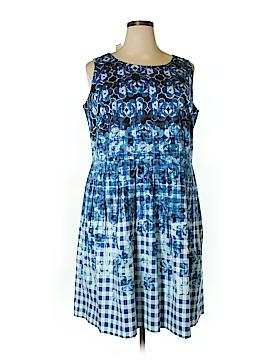 Talbots Casual Dress Size 18W Petite (Plus)