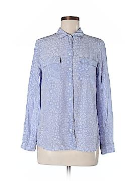 Gerard Darel Long Sleeve Silk Top Size 8 (40)