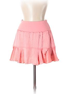 Bebe Silk Skirt Size S