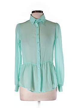 Yahada Long Sleeve Blouse Size M