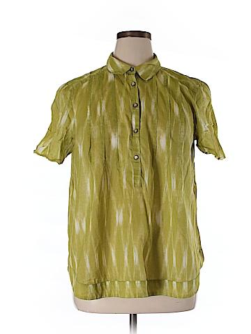 Talbots Short Sleeve Button-Down Shirt Size XL