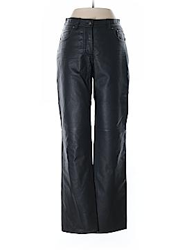 DANIER Faux Leather Pants Size 0