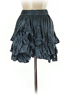 London Jean Silk Skirt Size M