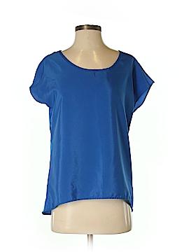 Olive and Oak Short Sleeve Blouse Size S