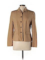 Ann Taylor LOFT Women Wool Blazer Size 12 (Petite)