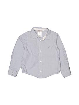 Jacadi Long Sleeve Button-Down Shirt Size 2