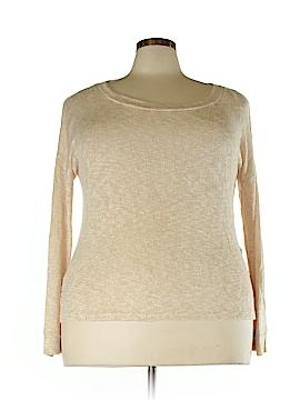 Perch by Blu Pepper Pullover Sweater Size 2X (Plus)