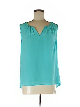 Morning Lady Inc. Sleeveless Silk Top Size M