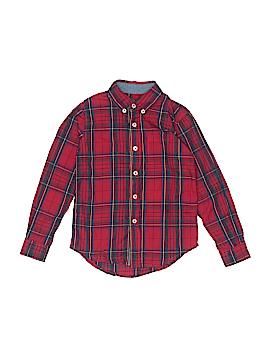 Peek... Long Sleeve Button-Down Shirt Size 6