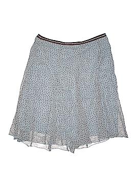 Lapis Silk Skirt Size L