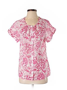 Van Heusen Short Sleeve Button-Down Shirt Size S