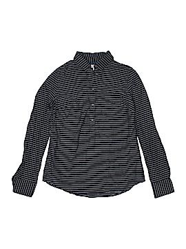 Merona Long Sleeve Button-Down Shirt Size XS (Petite)