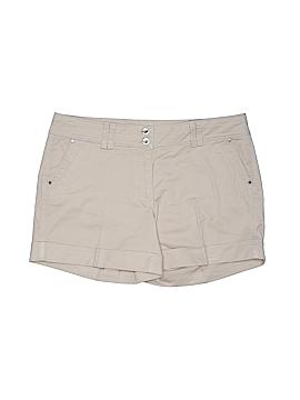 White House Black Market Khaki Shorts Size 8