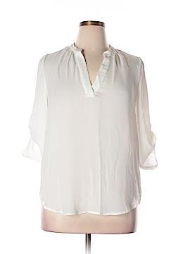 Three Hearts 3/4 Sleeve Blouse Size XL