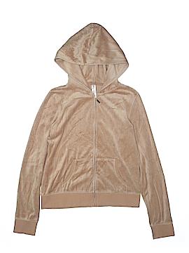 Plush & Lush Zip Up Hoodie Size L