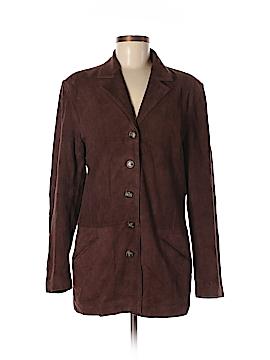 Nicole Miller New York City Leather Jacket Size M