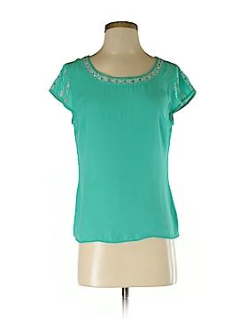 Marineblu Short Sleeve Blouse Size M
