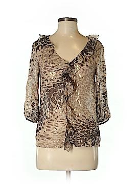 Tibi 3/4 Sleeve Silk Top Size 4