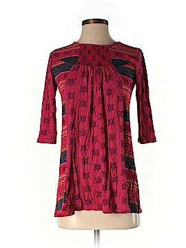 Global Desi 3/4 Sleeve Top Size XS