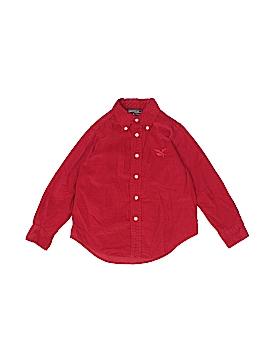 American Living Long Sleeve Button-Down Shirt Size 4