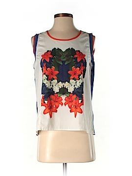 Plains & Prints Sleeveless Top Size 4