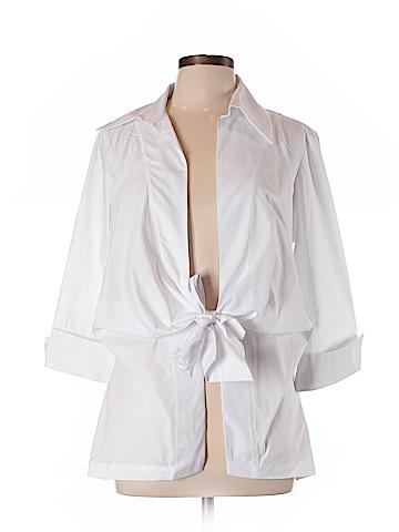 Staples 3/4 Sleeve Blouse Size L