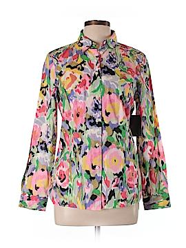Liz Claiborne Long Sleeve Button-Down Shirt Size 10