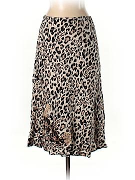 New York & Company Silk Skirt Size S