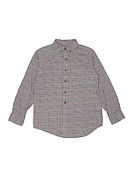 Classic Club Long Sleeve Button-Down Shirt Size 7