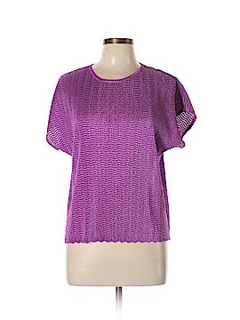 TanJay Short Sleeve Blouse Size L (Petite)