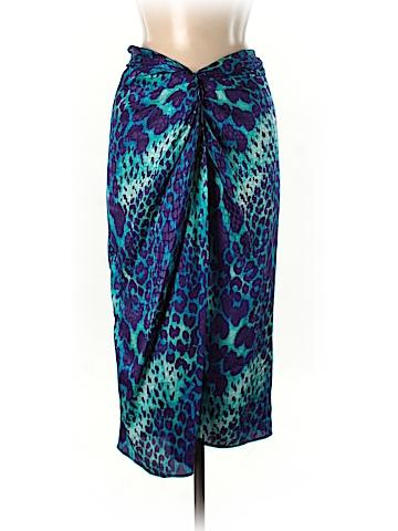 Salvatore Ferragamo Silk Skirt Size 40 (EU)