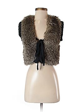 Juicy Couture Faux Fur Vest Size P
