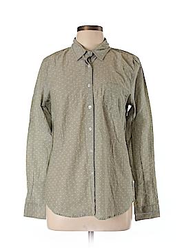 Steven Alan Long Sleeve Button-Down Shirt Size XL