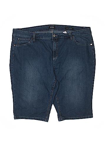 Jones New York Denim Shorts Size 20 (Plus)