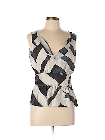 Emporio Armani Sleeveless Silk Top Size 46 (EU)