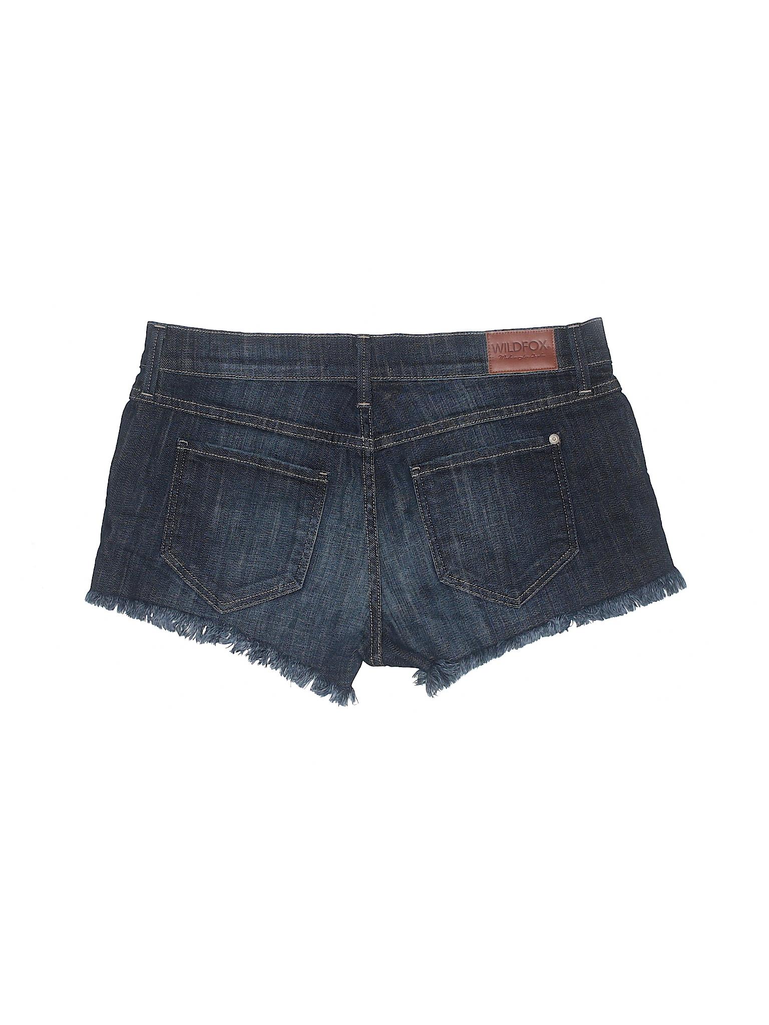 Wildfox Boutique Wildfox Denim Shorts Denim Boutique Shorts 7IO7Z6q