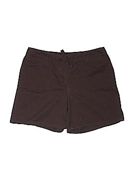 Liz & Co Khaki Shorts Size 8