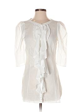 Anne Fontaine Short Sleeve Blouse Size 36 (EU)