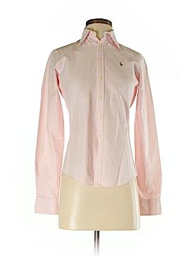 Ralph Lauren Blue Label Long Sleeve Button-Down Shirt Size 2